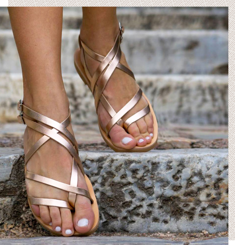 4919bb353ad GES Sandals - Δερμάτινα Σανδάλια GES - Classic & New Collection 2018